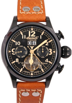 Ingersoll IN4506BBK Bison No. 18 Automatic Black (IN4506BBK)