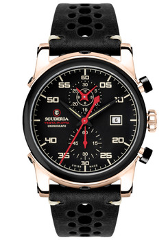 CT Scuderia CS30102 Testa Piatta Chronograph Black