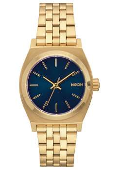 Nixon Medium Time Teller All Light Gold Cobalt (A11301931)