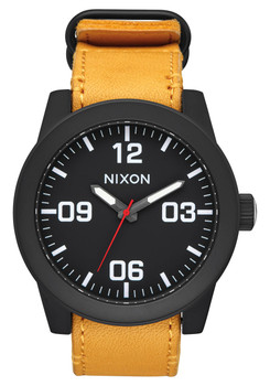 Nixon Corporal All Black Goldenrod (A2432448)