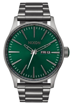 Nixon Sentry SS All Gunmetal Green Sunray (A3562458)