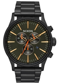 Nixon Sentry Chrono All Black Surplus