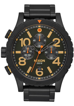 Nixon 48-20 Chrono All Black Surplus (A4861032)