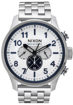 Nixon Safari Dual Time Silver (A1081130)