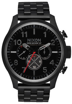 Nixon Safari Dual Time All Black (A1081001)