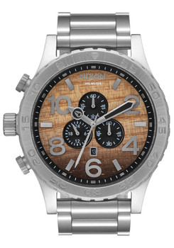 Nixon 51-30 Chrono Wood Silver (A0832457)