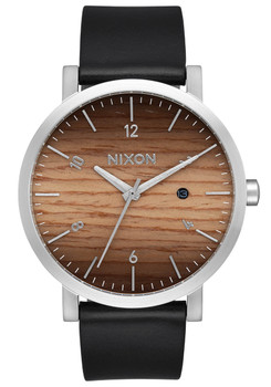Nixon Rollo Wood Silver (A9452457)