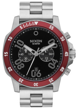 Nixon Ranger Chrono Black Red (A549008)