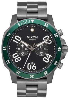 Nixon Ranger Chrono All Gunmetal Green (A5492456)