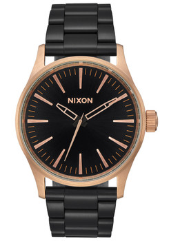 Nixon Sentry 38 SS Black Rose Black (A4502481)