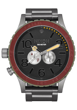 NIXON 51-30 Star Wars Boba Fett Red Gray (A172SW2241)