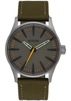 NIXON Sentry 38 Nylon Gunmetal Surplus (A4262072)