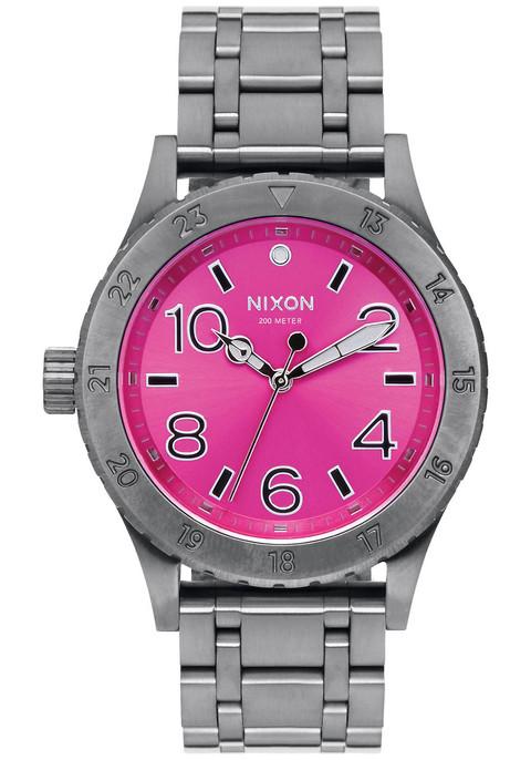 NIXON 38-20 Gunmetal Pink Sunray (A4102096)