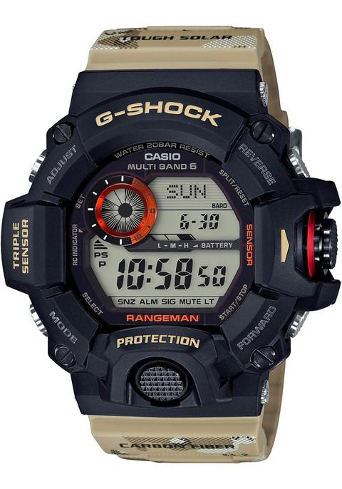 G-shock GW-9400DCJ-1 Rangemen Desert Camo (GW-9400DCJ-1A)  WATCH FRONT