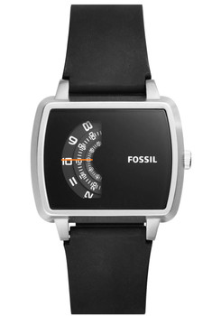 Fossil JR1286 The Meter Black Silicone (JR1286)
