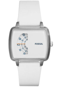 Fossil JR1287 The Meter White Silicone (JR1287)