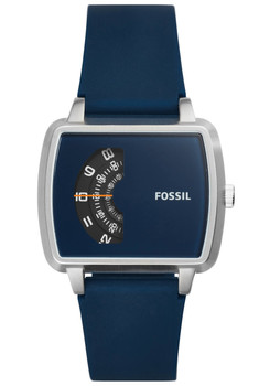 Fossil JR1289 The Meter Blue Silicone (JR1289)
