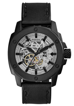 Fossil ME3134 Modern Machine Automatic Leather Black (ME3134)
