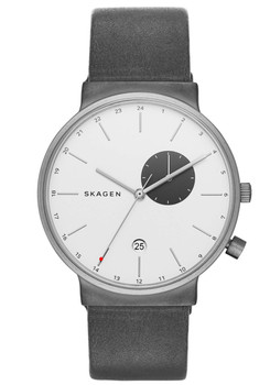 Skagen SKW6319 Ancher Titanium Leather Grey (SKW6319)