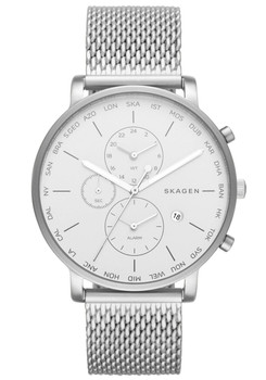 Skagen SKW6301 Hagen World Time Alarm Steel (SKW6301)