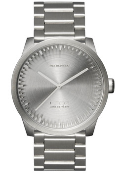 LEFF Amsterdam Tube Watch S38 All Steel (LT71101)