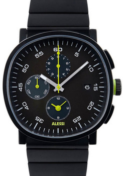 Alessi AL5032 TIC15 Chronograph All Black (AL5032)