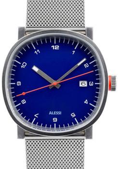 Alessi AL5040 TIC15 Silver Mesh Blue (AL5040)