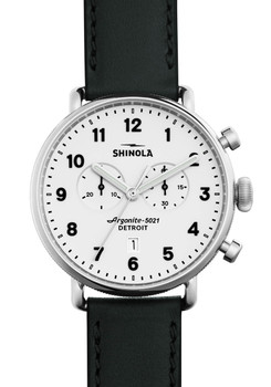 Shinola Canfield 43mm Chronograph White (S0120001941)