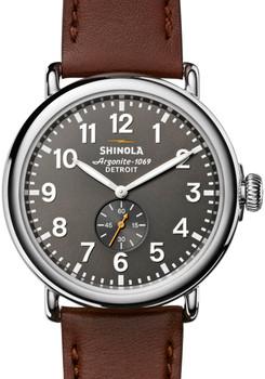 Shinola Runwell 47mm Cool Gray Brown (S0120018330)