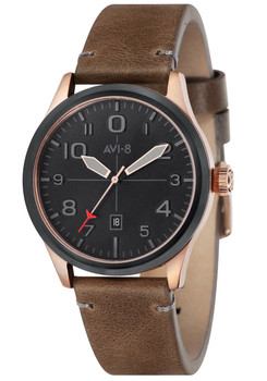 AVI-8 Flyboy Brown Rose Gold (AV-4028-0C)