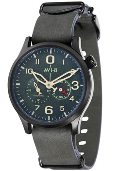 AVI-8 Flyboy Multi-Function Automatic Green Black (AV-4048-03)