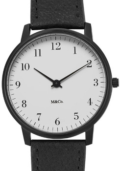 M&Co Bodoni 40mm Black (7401-40)
