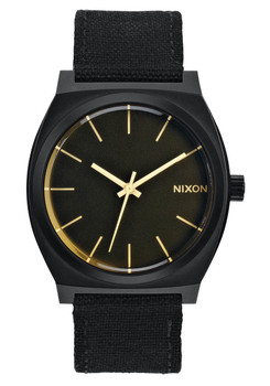 Nixon Time Teller Matte Black Orange Tint (A0451354)