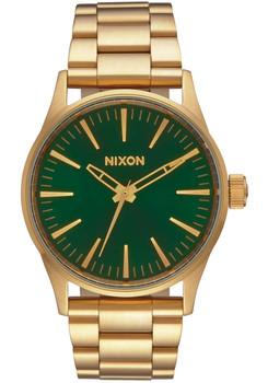 Nixon Sentry 38 SS Gold Green Sunray (A4501919)