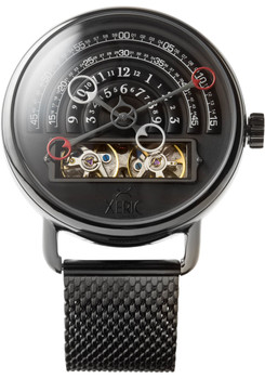 Xeric Halograph Automatic Mesh Gunmetal (HLG-3017M)