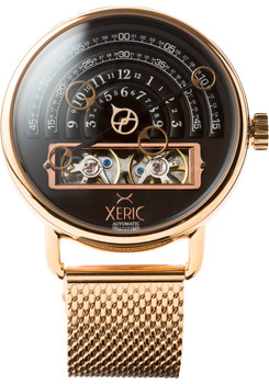 Xeric Halograph Automatic Mesh Rose Gold (HLG-3018M)