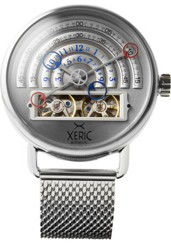 Xeric Halograph Automatic Mesh Silver (HLG-3016M)