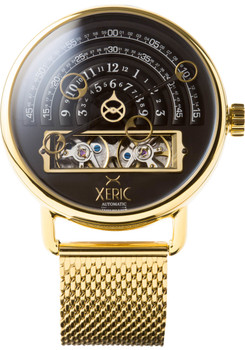 Xeric Halograph Automatic Mesh Black/Gold (HLG-3019M)