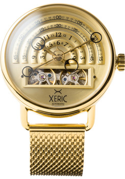 Xeric Halograph Automatic Mesh All Gold (HLG-3020M)