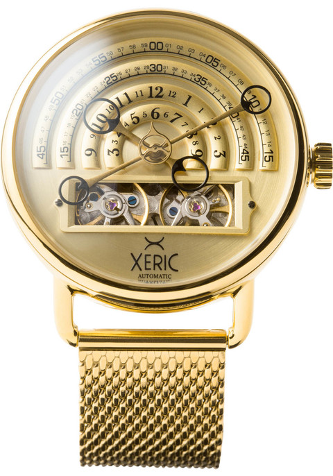 Xeric halograph automatic mesh all gold for Watches xeric