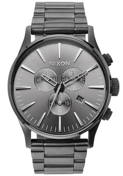 Nixon Sentry Chrono All Gunmetal (A386632)