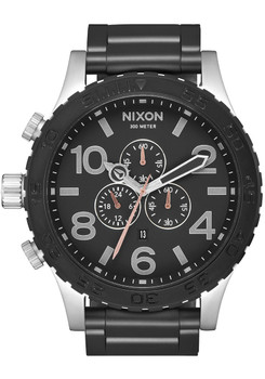 Nixon 51-30 Chrono Black Steel (A0832541)