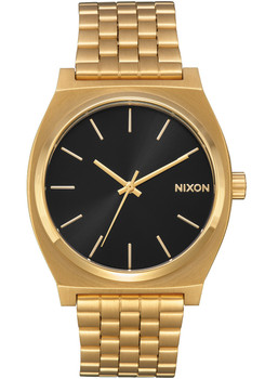 Nixon Time Teller All Gold Black Sunray (A0452042) front