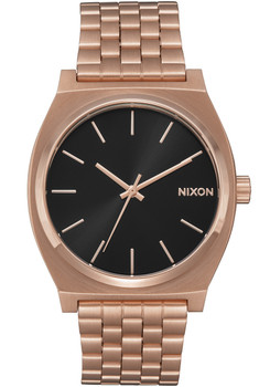 Nixon Time Teller All Rose Gold Black Sunray (A0452598) front