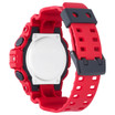 G-Shock GA-700 Anadigi Red Black (GA-700-4A) BACK