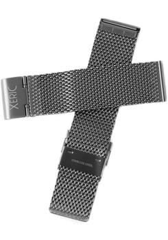 Xeric 24mm Gunmetal PVD Mesh Strap (XRC-MESH-24-GNGN)