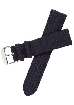 Xeric Savile Row 22mm Navy Classic Worsted