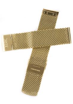 Xeric 20mm Gold PVD Mesh Strap (XRC-MESH-20-GDGD)