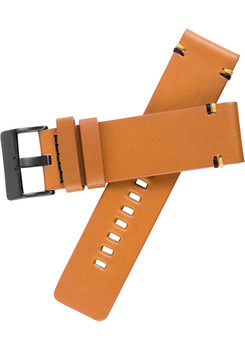 Xeric 24mm Smooth Tan Leather Strap (XRC-XS2-24-TNBK) xeriscope squared strap