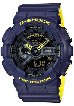 G-Shock GA-110 Layered Neon Blue (GA110LN-2A)